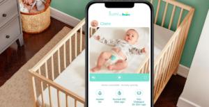 パンパースが赤ちゃんのオムツに付けるセンサー「Lumi」を発表。
