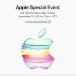 2019年9月10日Appleスペシャルイベントの始まる時間は?