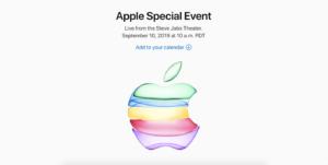 新型iPhone11発表!?2019年9月10日Appleスペシャルイベントの始まる時間は?